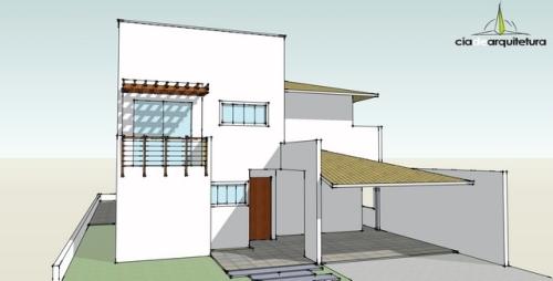 Fachada Principal - Casa 01