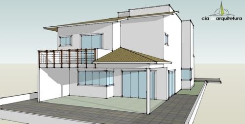 Fachada Fundos - Casa 01