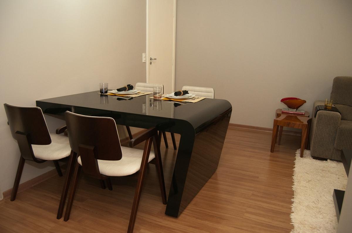Ambientes Pequenos Blog Cia De Arquitetura -> Sala De Jantar Pequena Com Mesa De Marmore